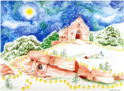 Advent Calendar, St. Francis