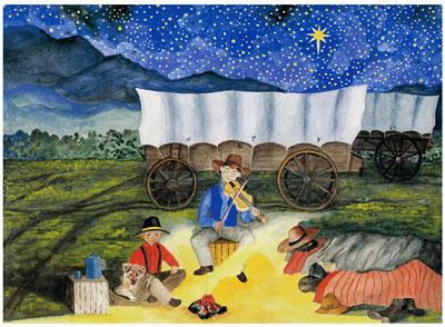Advent Calendar, Western Trails