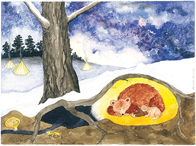 Advent Calendar, Winter Dreams